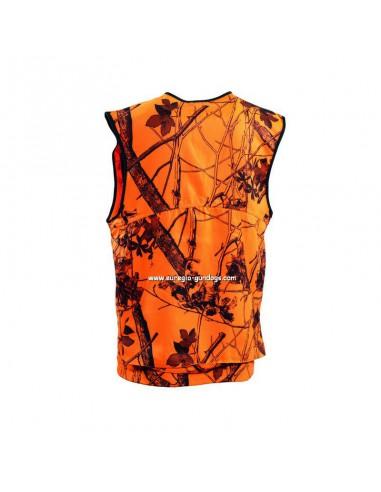 Deerhunter signaalcamouflage vest voorkant