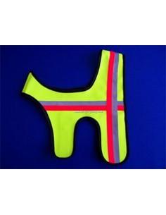 Signal-Hunde-Weste mit Doppel-Klett
