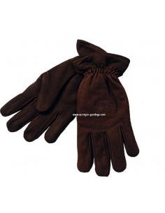 Laksen lederen handschoenen met schietvinger
