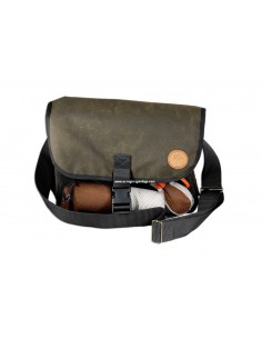 Waxed cotton Dummy bag