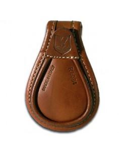 Lederen schoenbeschermer van Riserva