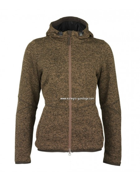 Laksen Galloway Gebreid Dames Fleece Jas
