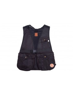 "Dummy- jachtvest ""Hunter"" van waxed cotton"
