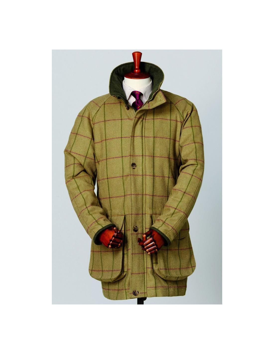 ziet er goed uit schoenen te koop presenteren jongen Laksen Heren Tweed Jas Glannan Euregio Gundog Store