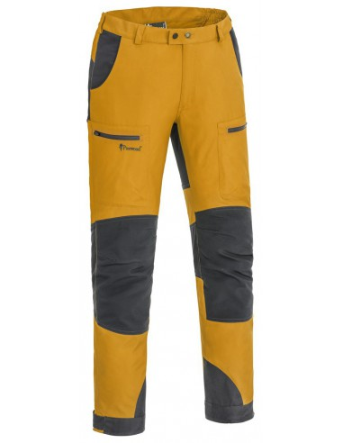 Pinewood Trouser Caribou TC. Color: Mustard Yellow/Dark Anthracite (573)
