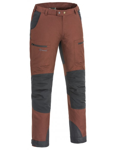 Pinewood Broek Caribou TC. Kleur: Donker Koper/ Donker antraciet (569)