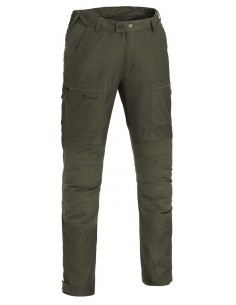 Pinewood Trouser Caribou TC. Color: Dark Olive Green (128)