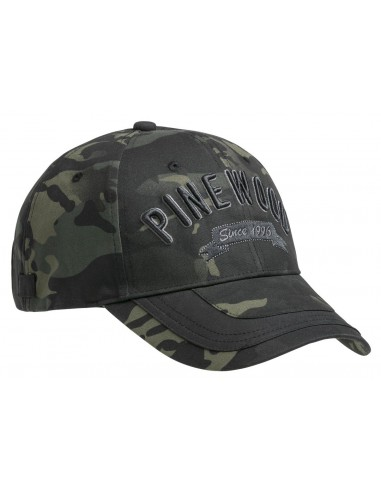 Pinewood Cap TC Camou Black Jungle/Black (963)