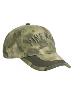 Pinewood Cap TC Camou Moss Camou/Dark Olive (968)