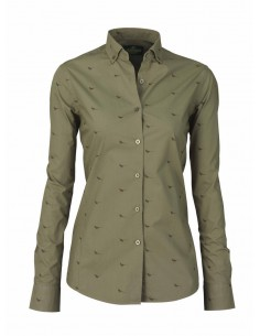 Laksen High & Wide Hen Lady Shirt Dusty Green