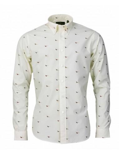 Laksen High & Wide Hen´s Men Shirts Cream