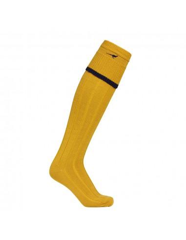 Laksen Colonial Shooting Socks (gorse / navy)