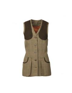 Laksen Blunhem Dames Tweed Schietvest