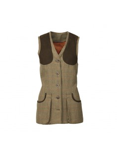 Laksen Blunhem Ladies Tweed Shooting Vest
