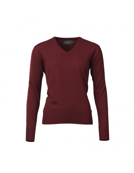 Laksen Ladies V-neck Sweater Essex