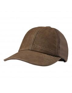 Deerhunter Leder mix Cap Marseille