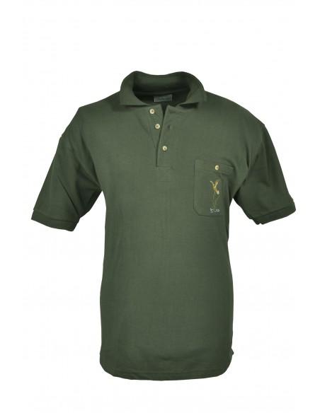 Hubertus Polo Shirt with Flying Duck