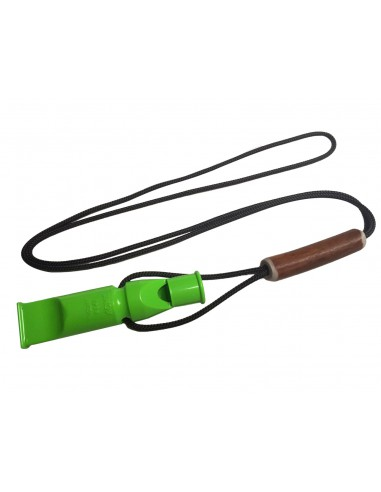 ACME Double Dog Whistle 640 DG green with Exclusive Lanyard
