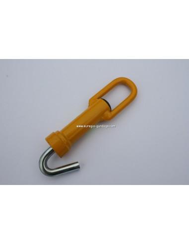 Ventlock geel 10 cm