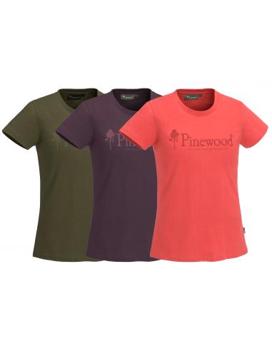 Pinewood Women´s T-Shirt Outdoor Live