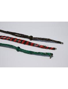Leather braided Lanyard